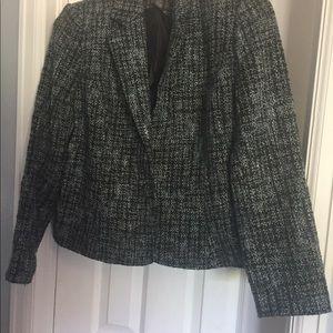 Tweed Fabric Blazer